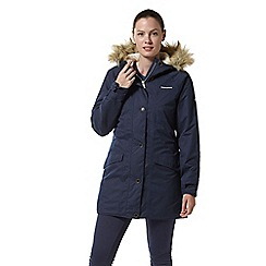 Craghoppers - Blue 'Ferness' waterproof insulated jacket
