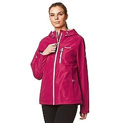 Craghoppers - Pink rosedale waterproof jacket