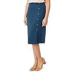 Eastex - A-line button up skirt