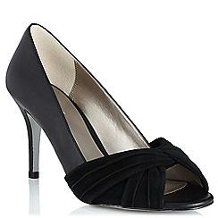 Jacques Vert - Suede twist front shoes