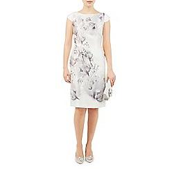 Jacques Vert - Print embellish shift dress