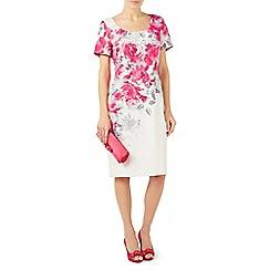 Jacques Vert - Multicoloured 'Rose Print' shift dress