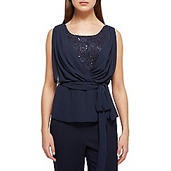 Jacques Vert - Lace and chiffon top