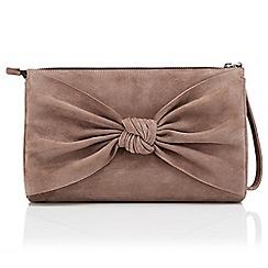 Jacques Vert - Suede Bow bag