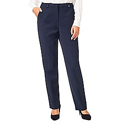 Eastex - Textured crepe trousers