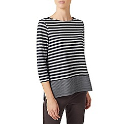 Dash - Block stripe top