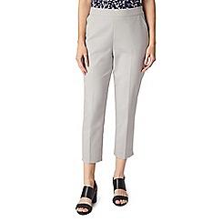 Precis - Petite grey cropped trousers