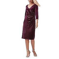 Jacques Vert - Velvet sleeves dress