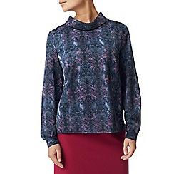 Eastex - Nova spot cowl blouse