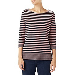 Dash - Block stripe jersey top