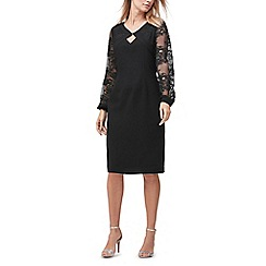 Jacques Vert - Lace blouson sleeves dress