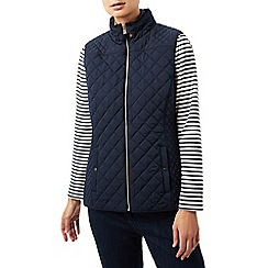 Dash - Navy rib side gilet