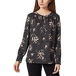 Precis - Petite spot & rose blouse