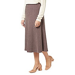 Eastex - Tweed fit & flare skirt