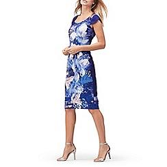 Jacques Vert - Magnolia crepe print dress