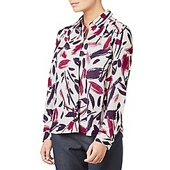 Eastex - Brushmark print blouse