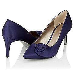 Jacques Vert - Sapphire swirl detail shoes