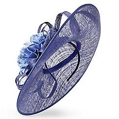 Jacques Vert - Sapphire large disc fascinator