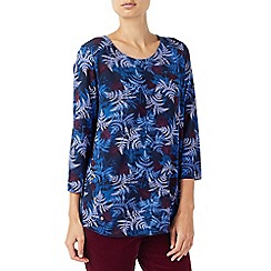 Dash - Spaced floral top