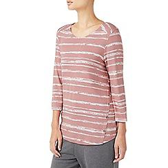 Dash - Birch texture stripe top