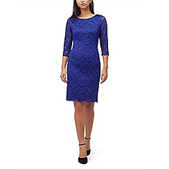 Precis - Petite 2 tone lace dress
