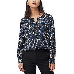 Precis - Petite abstract animal blouse