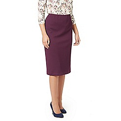 Eastex - Textured ponte pencil skirt