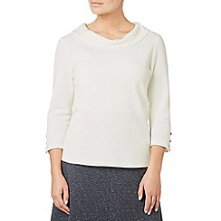 Eastex - Ponte cowl neck top