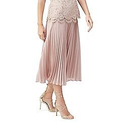 Jacques Vert - Lace detail pleat skirt