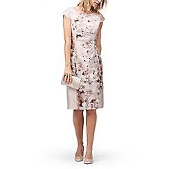 Jacques Vert - Embellished shantung dress