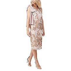 Jacques Vert - Embellished cape detail dress