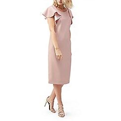 Jacques Vert - Ruffle sleeve dress