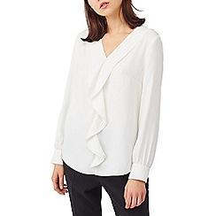 Precis - Petite waterfall blouse