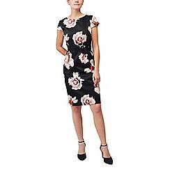 Precis - Petite desert rose print dress