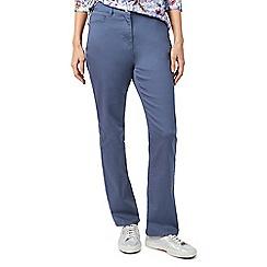 Dash - Cornflower blue short jeans