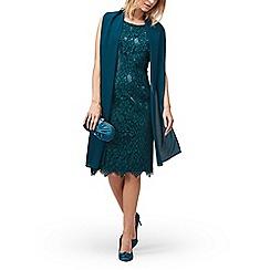 Jacques Vert - Lace and cap dress