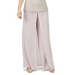 Jacques Vert - Pleat wide trousers