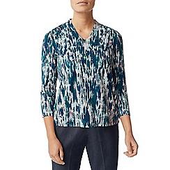 Eastex - Texture print jersey top