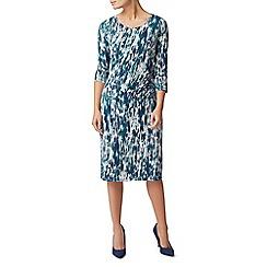 Eastex - Texture print jersey dress