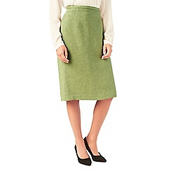 Eastex - Textured pencil skirt