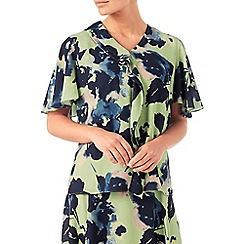 Eastex - Osaka floral print blouse