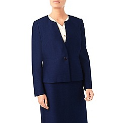 Eastex - Shantung round neck jacket