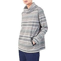 Dash - Tapestry jacquard cowl top