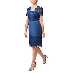 Precis - Petite shimmer lace dress
