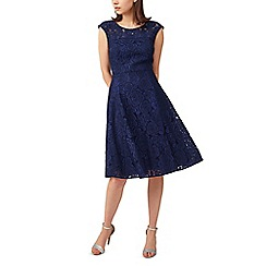 Precis - Petite lace prom dress