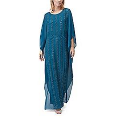 Jacques Vert - Linear beaded maxi dress