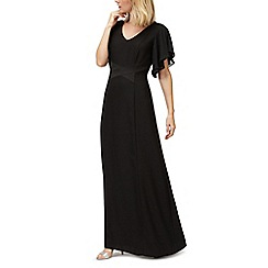 Jacques Vert - Crepe angel sleeve maxi dress