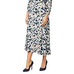 Eastex - Waterpebble print jersey skirt