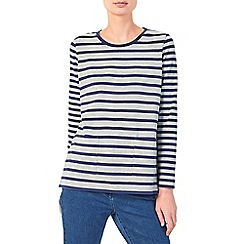 Dash - Patch pocket stripe top