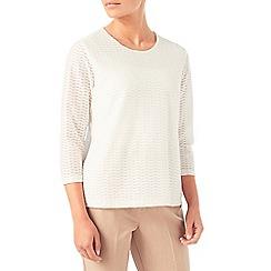 Eastex - Texture jersey top